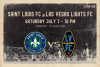 Saint Louis FC takes on Las Vegas Lights FC Saturday in Las Vegas.