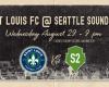Saint Louis FC takes on Seattle Sounders 2 Wednesday night in Tacoma, Washington.