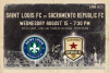 Saint Louis FC takes on Sacramento Republic FC Wednesday night in St. Louis.