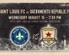 Saint Louis FC takes on Sacramento Republic FC Wednesday night in St. Louis.