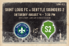 Saint Louis FC faces Seattle Sounders 2 Saturday at World Wide Technology Soccer Park in St. Louis.